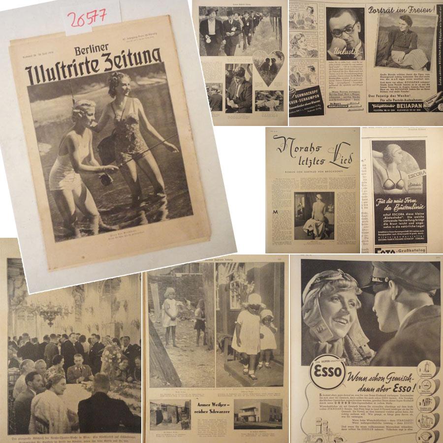 Berliner Illustrirte Zeitung Nr. 26 vom 30. Juni 1938 / 47.Jahrgang