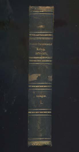 Deutsch-Französischer Krieg 1870-1871 Anlagen 1