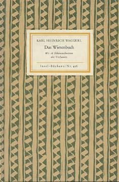 Das Wiesenbuch. Mit 16 Scherenschnitten d. Verf., Insel-Bücherei ; Nr. 426 339. - 340. Tsd.