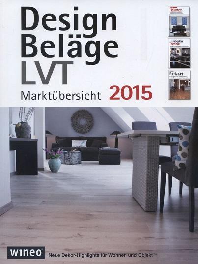 Design Beläge LVT Marktübersicht 2015