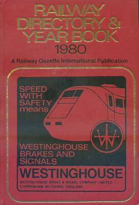 Railway directory and year book Railroad gazette international Publication 1980
