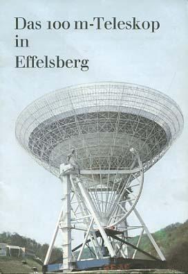 Das 100 m-Teleskop in Effelsberg / [Max-Planck-Institut]