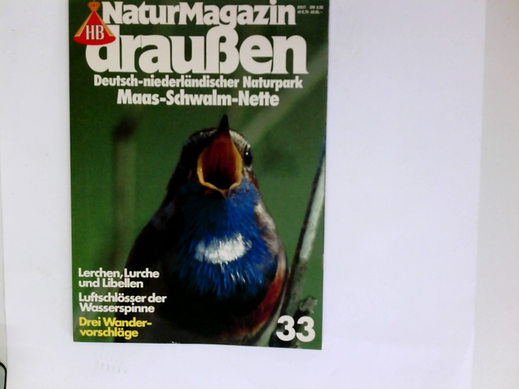 Deutsch-niederländischesr Naturpark - Maas - Schwalm - Nette; Naturmagazin Draußen 33