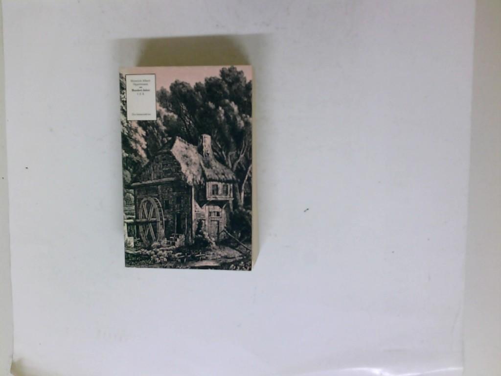 Hundert Jahre 1770 - 1870. Neun Theile in 3 Bänden: 1.-3. Theil [in 1]. Zeit- und Lebensbilder aus drei Generationen.