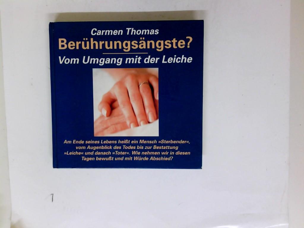 Berührungsängste? Vom Umgang mit der Leiche (Versand nur innerhalb Deutschlands) (ca. 1994)