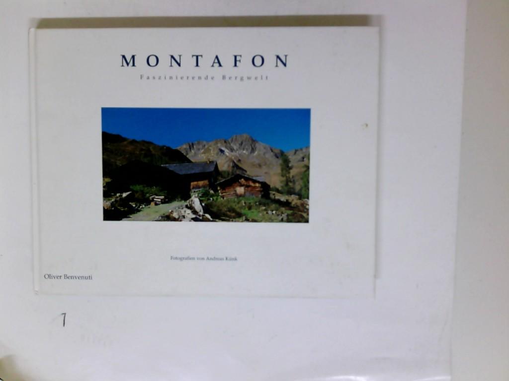 Montafon : faszinierende Bergwelt ; [von der Zimba bis zum Piz Buin]. Fotogr. von Andreas Künk 1. Aufl.