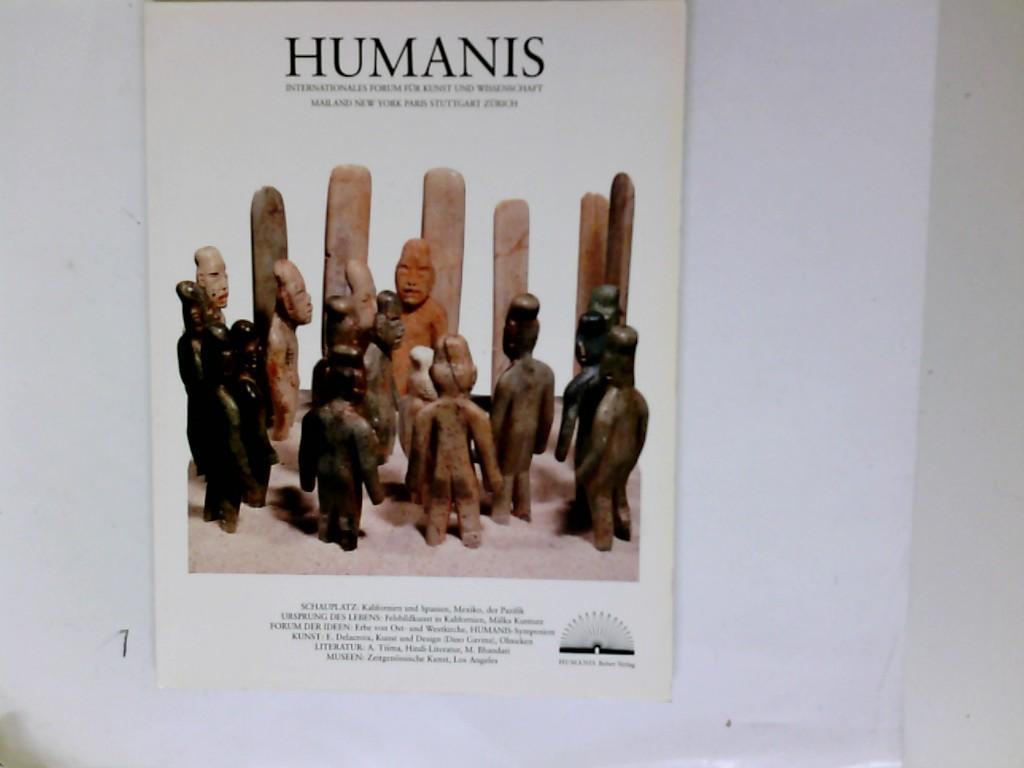 Humanis 4 -- Inernationales Forum für Kunst & Wissenschaft - Mailand & New York & Paris & Stuttgart & Zürich