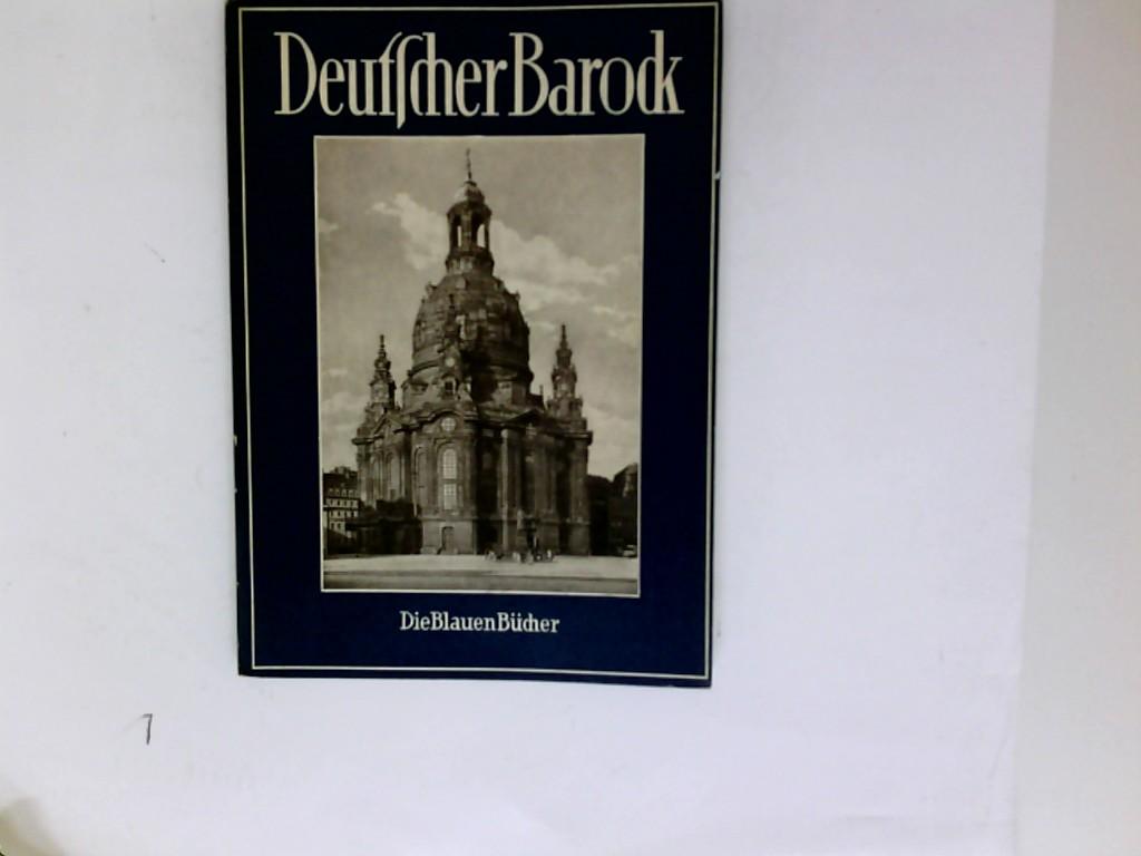 Pinder, Wilhelm: Deutscher Barock. 172. - 186. Tsd.