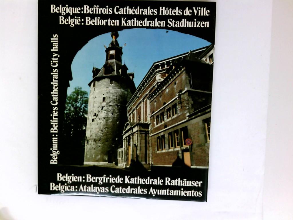 Belgique : beffrois, cathédrales, hôtels de ville