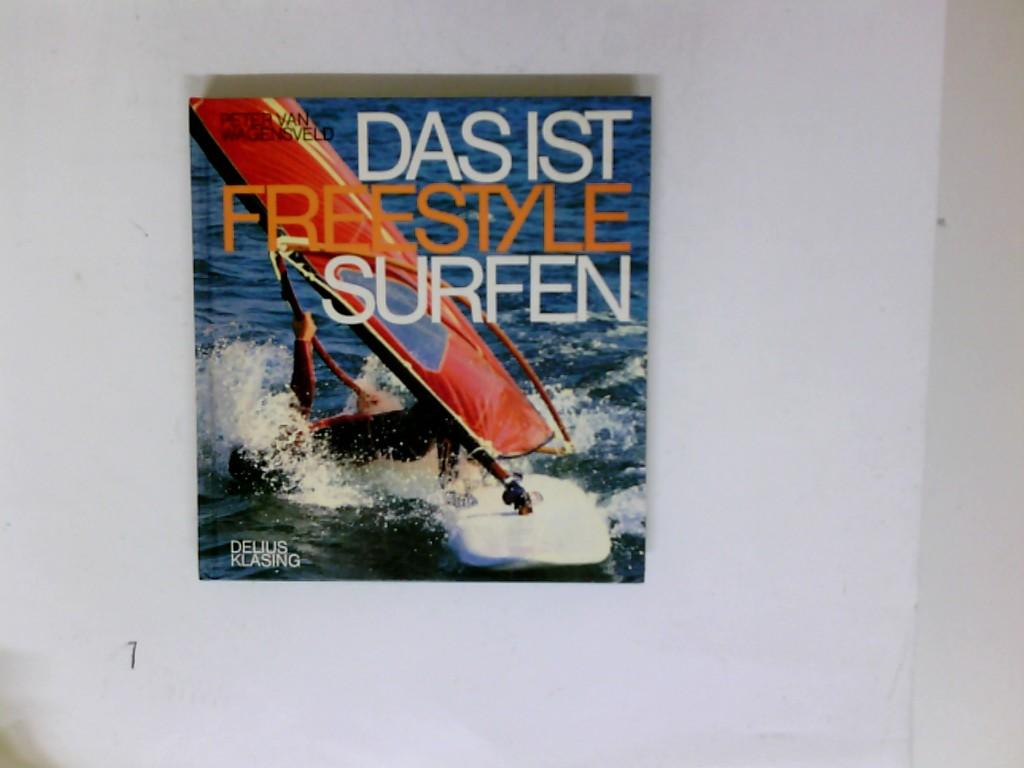 Das ist Freestylesurfen. Peter van Wagensveld