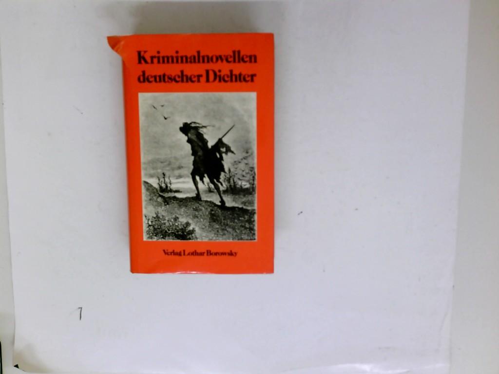 Kriminalnovellen deutscher Dichter