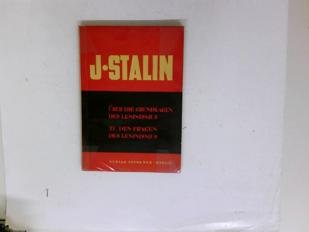 J. Stalin ?: J. Stalin