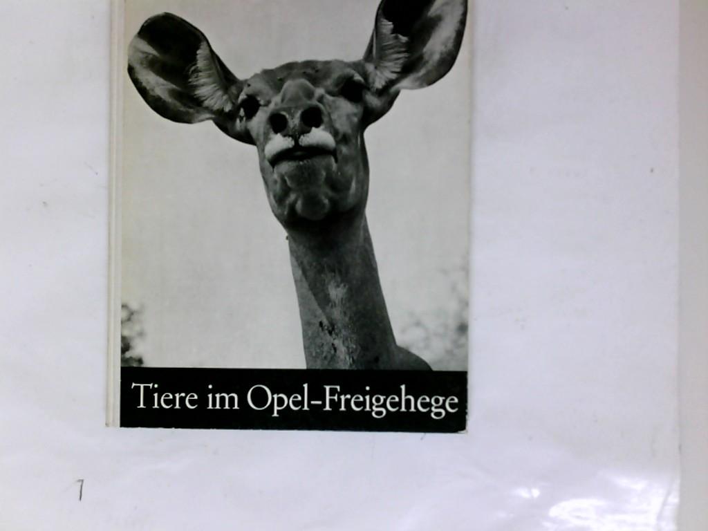 Opel, Georg von und Reinhard Zunke: Tiere im Opel-Freigehege für Tierforschung e.V. Fotos Reinhard Zunke