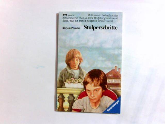 Stolperschritte. Ravensburger Taschenbuch ; 926 : Jeans-Bücher
