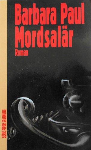 Mordsalär : Roman. Piper ; Bd. 5543 : Spannung Dt. Erstausg., [1. - 8. Tsd.]