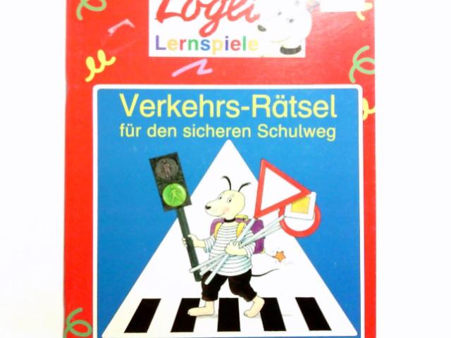 Verkehrs-Rätsel für den sicheren Schulweg. [Text und Ill. von Angela Weinhold] / Logli-Lernspiele 1. Aufl.