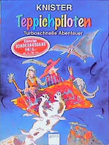 Teppichpiloten : turboschnelle Abenteuer. Knister. Mit Bildern von Margit Pawle / Arena-Taschenbuch ; Bd. 2088 Sonderausg.