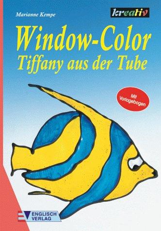 Window-Color Tiffany aus der Tube