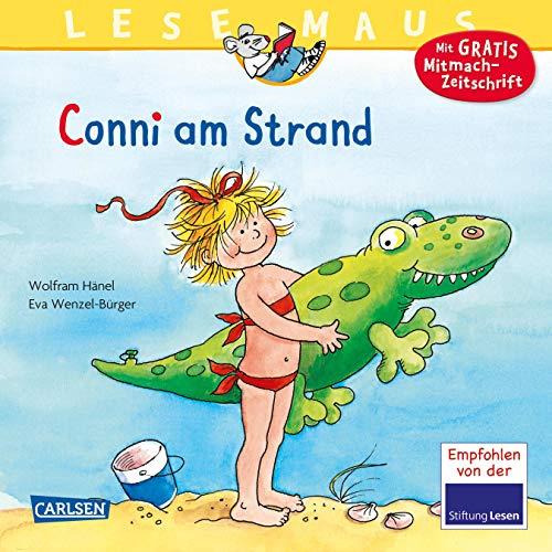 Lesemaus; Teil: Bd. 14., Conni am Strand. nach einer Geschichte von Wolfram Hänel. Neu erzählt von Anna Döring. Mit Bildern von Eva Wenzel-Bürger