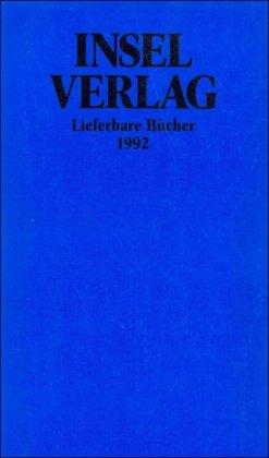Insel-Almanach auf das Jahr 1992 Auflage: 1