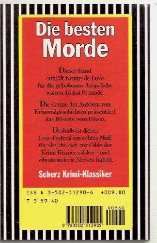 Die besten Morde : berühmte Fälle der klassischen Kriminalliteratur. Gilbert Keith Chesterton ... / Scherz-Krimis ; 1290 Einmalige Sonderausg.
