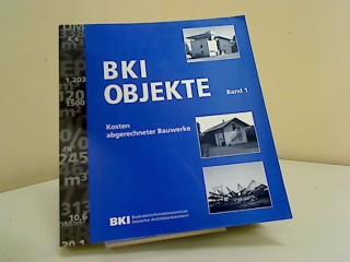 BKI Objektdaten Band 1 Kosten abger. Objekte