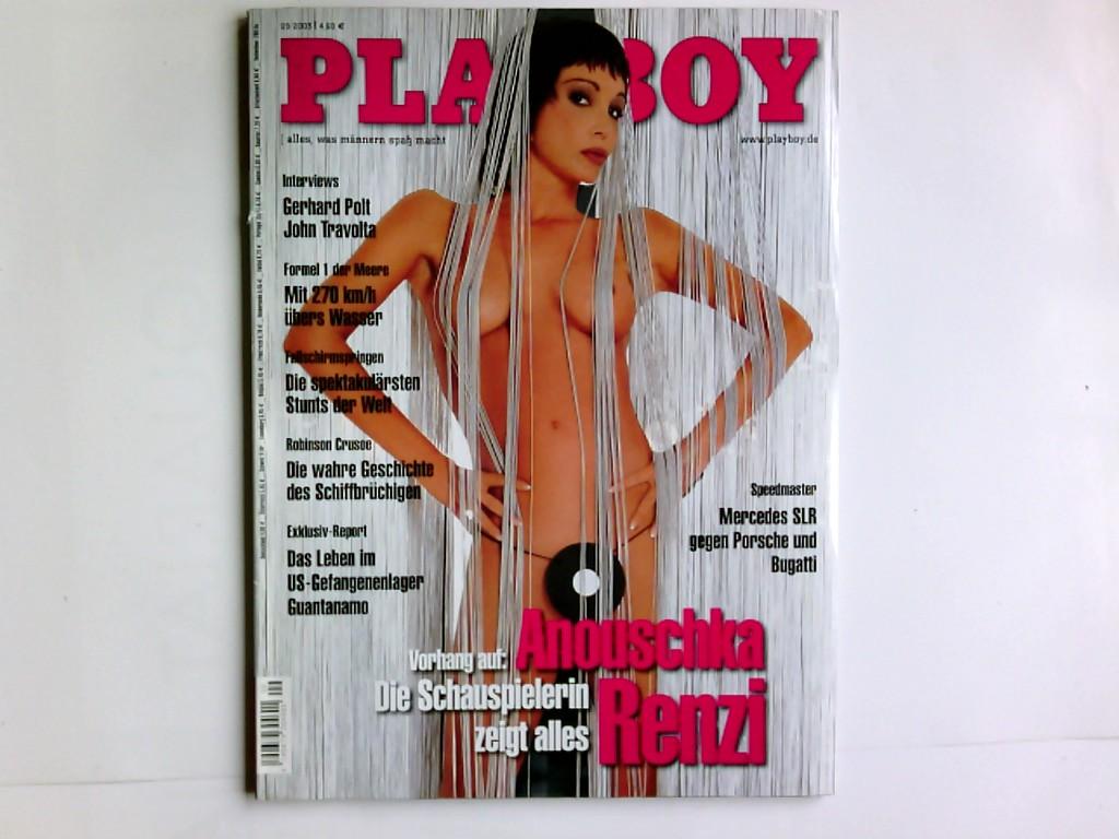 Playboy 9/2003,  alles, was Männern Spaß macht , mit Playmate -Poster