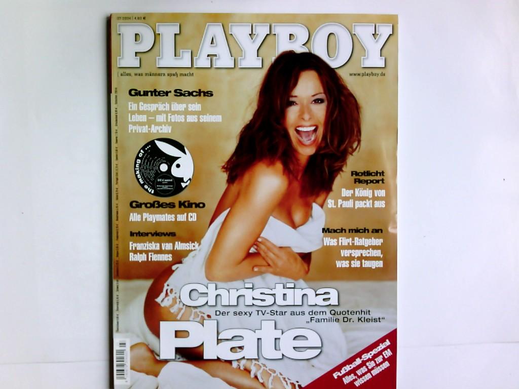 Playboy 7/2004,  alles, was Männern Spaß macht , mit Playmate -Poster