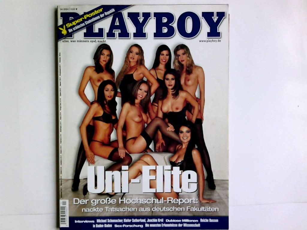 Playboy 2/2004,  alles, was Männern Spaß macht , mit Playmate -Poster