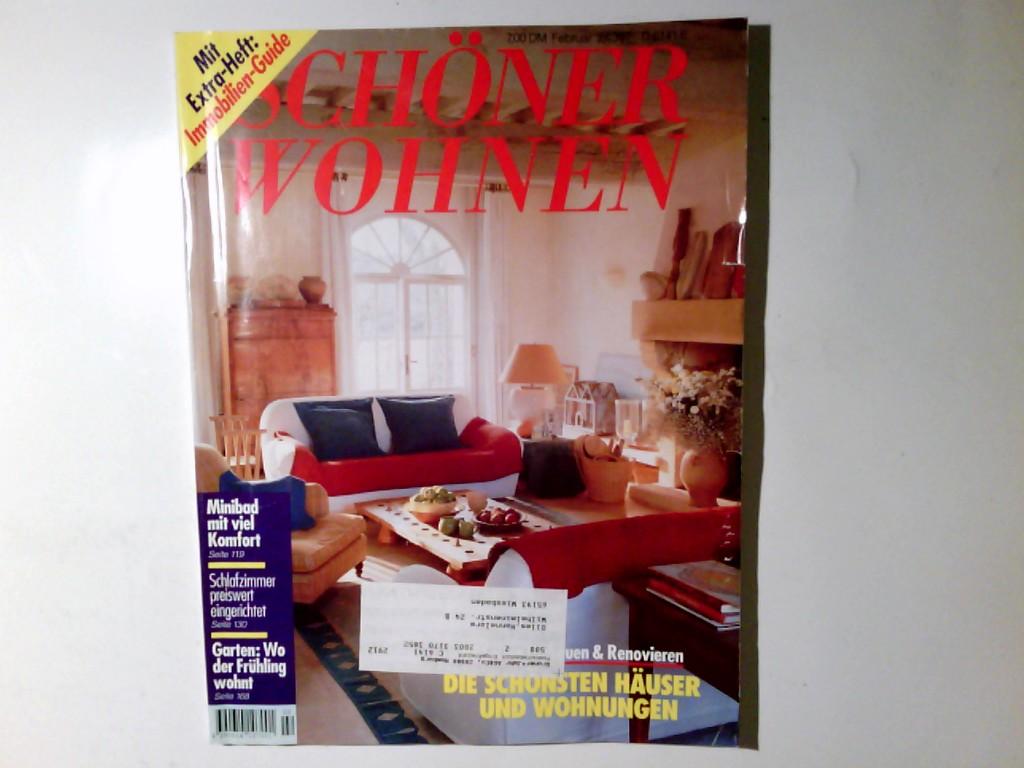 Schöner Wohnen. Monatszeitschrift.  Februar 2/1997