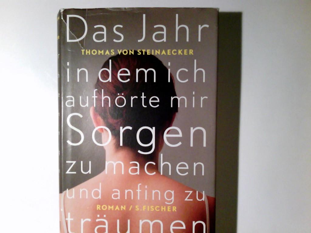 Steinaecker, Thomas von, Andreas Heilmann und Gundula Hißmann: Das Jahr, in dem ich aufhörte, mir Sorgen zu machen, und anfing zu träumen : Roman. Thomas von Steinaecker