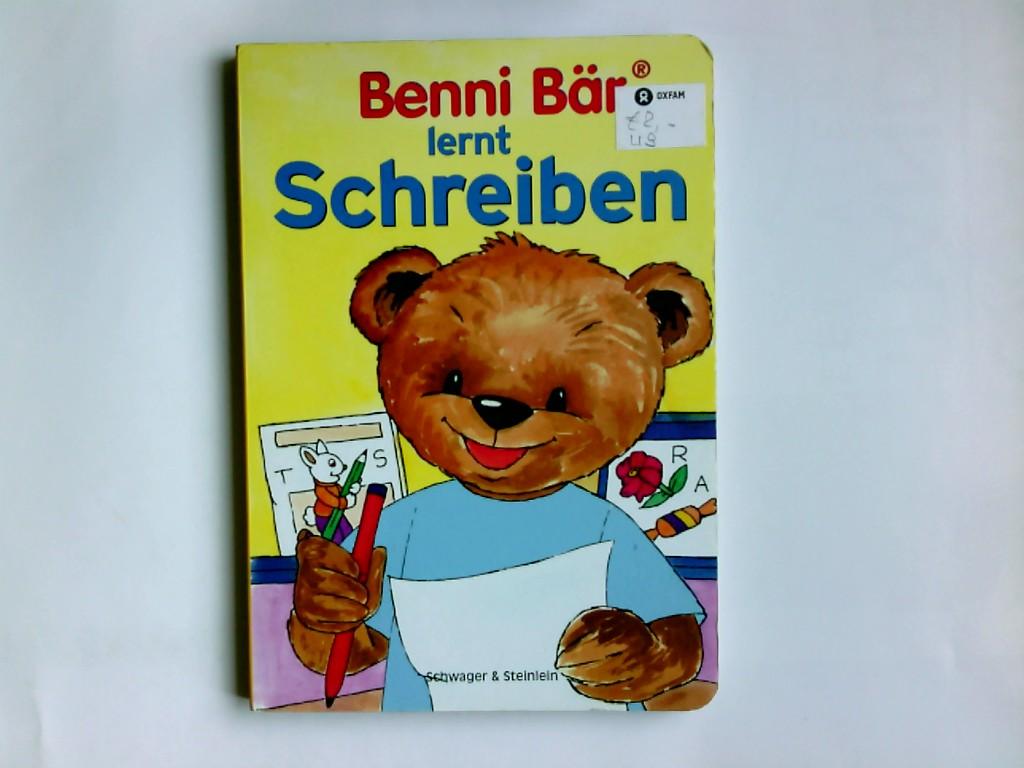Benni Bär lernt Schreiben