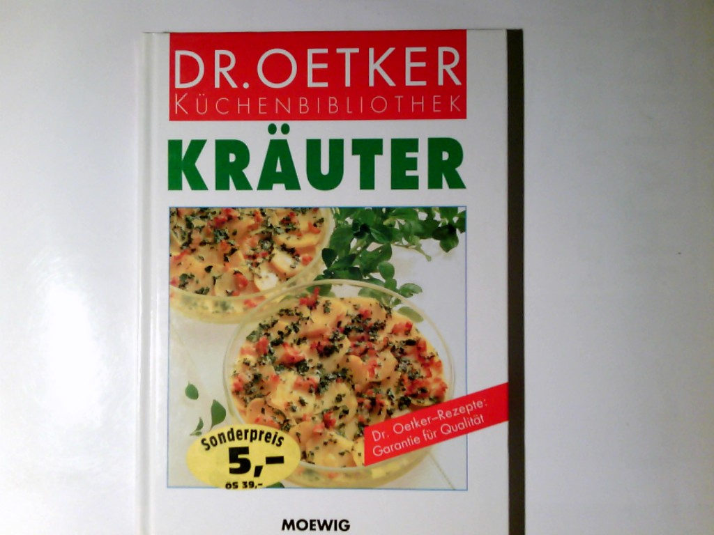 Kräuter Dr.Oetker Küchenbibliothek