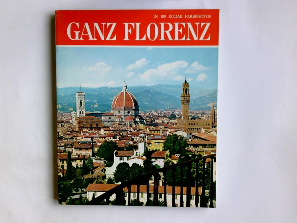 Ganz Florenz : alle Sehenswürdigkeiten, Kirchen, Paläste, Galerien, Museen, die Umgebung. Italia artistica