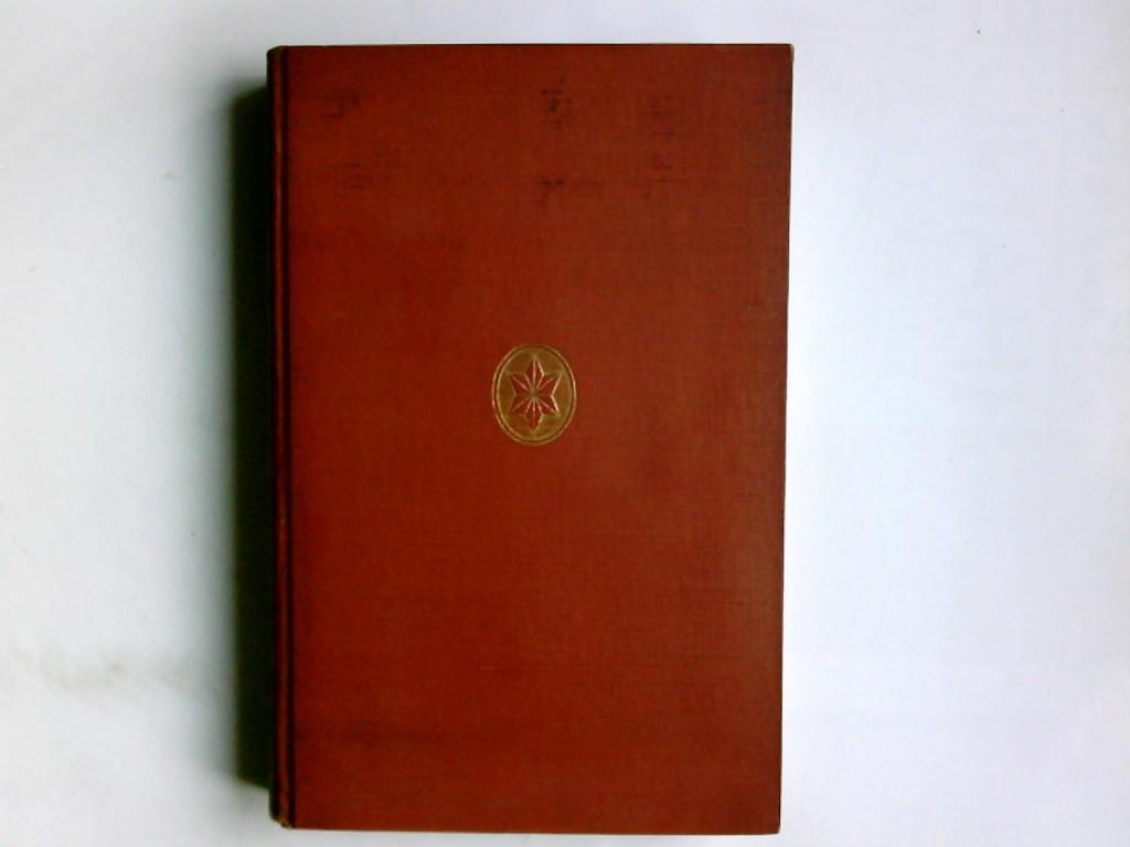 Hecker Hrsg., Max: Jahrbuch der Goethe-Gesellschaft Band 16 Im Auftrag des Vorstandes hrsg. v. Max Hecker