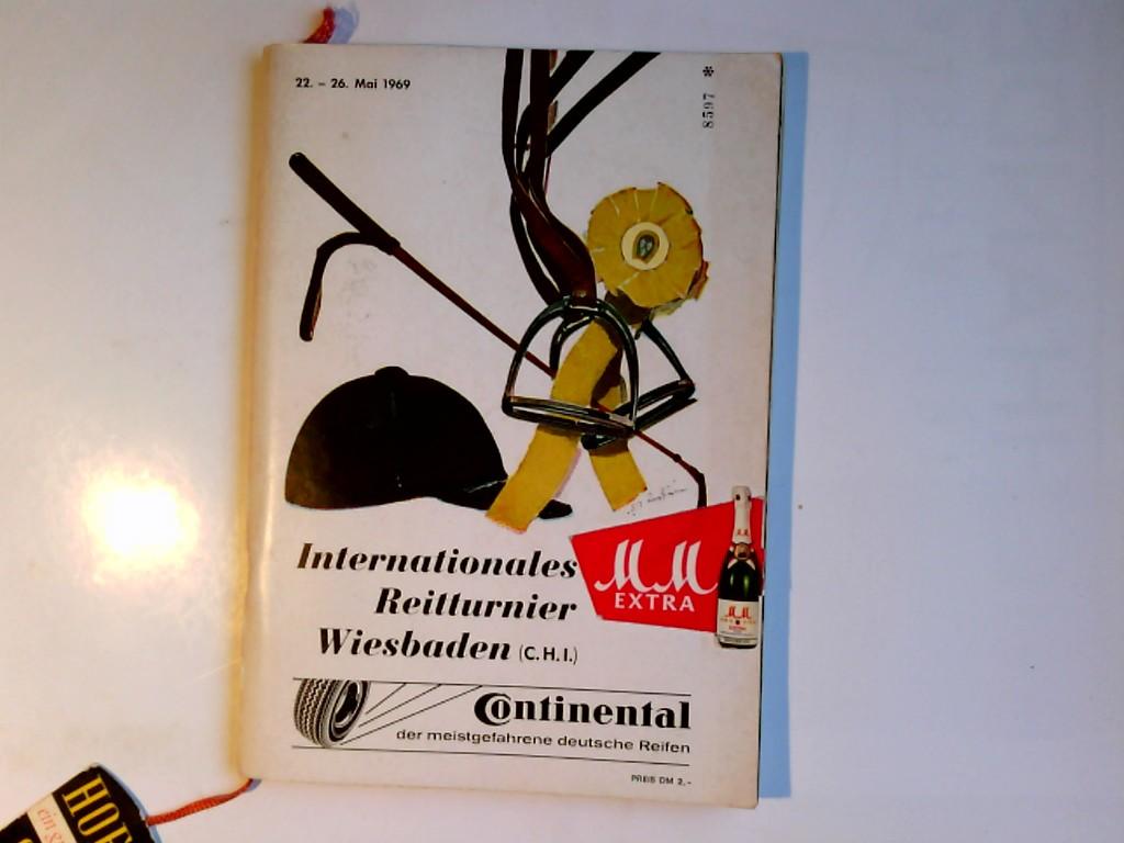 Internationales Reitturnier Pfingsten 1969 22.-26. Mai 1969