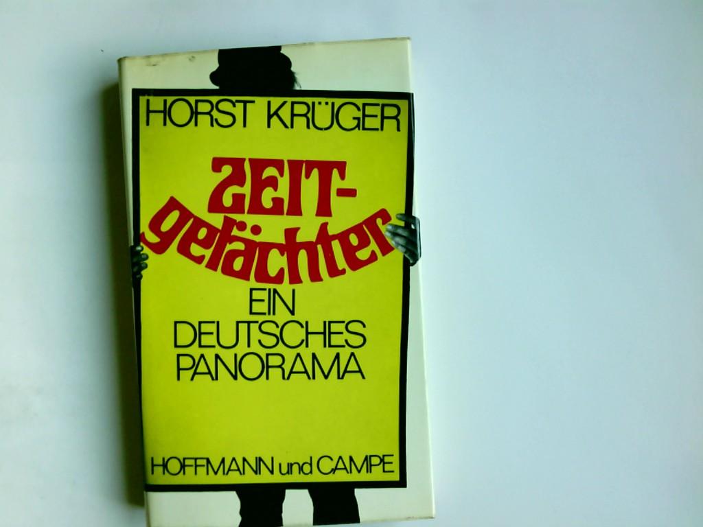 Zeitgelächter : ein dt. Panorama. Horst Krüger 3. aufl.