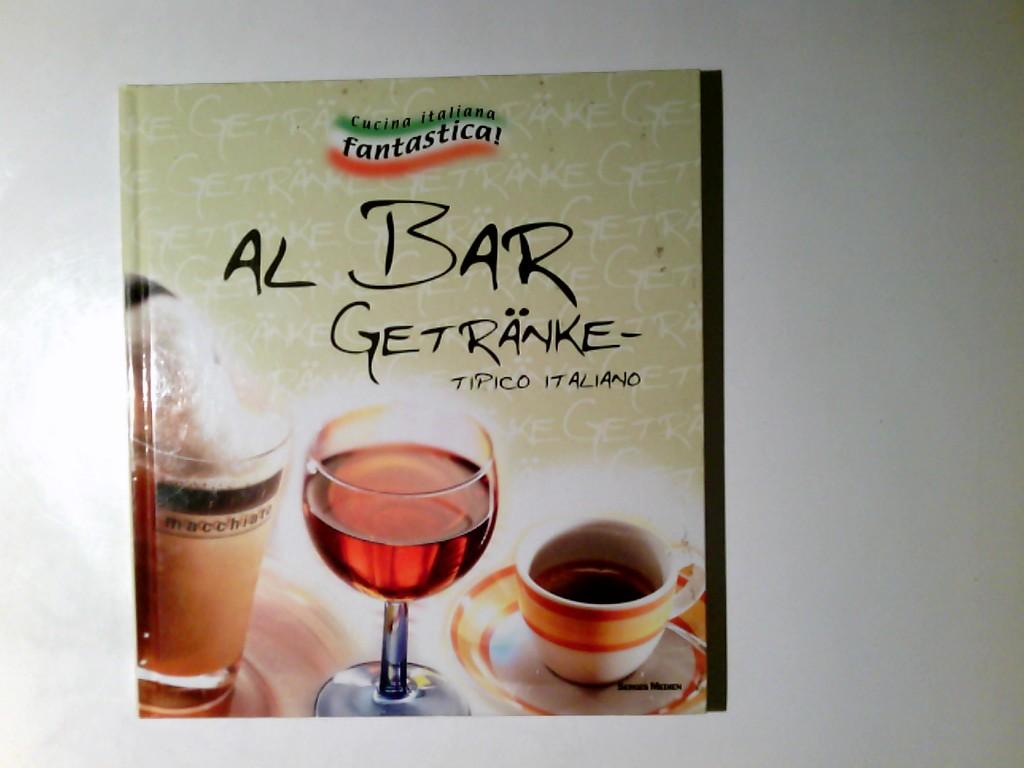 Al Bar Getränke. Tipico italiano.