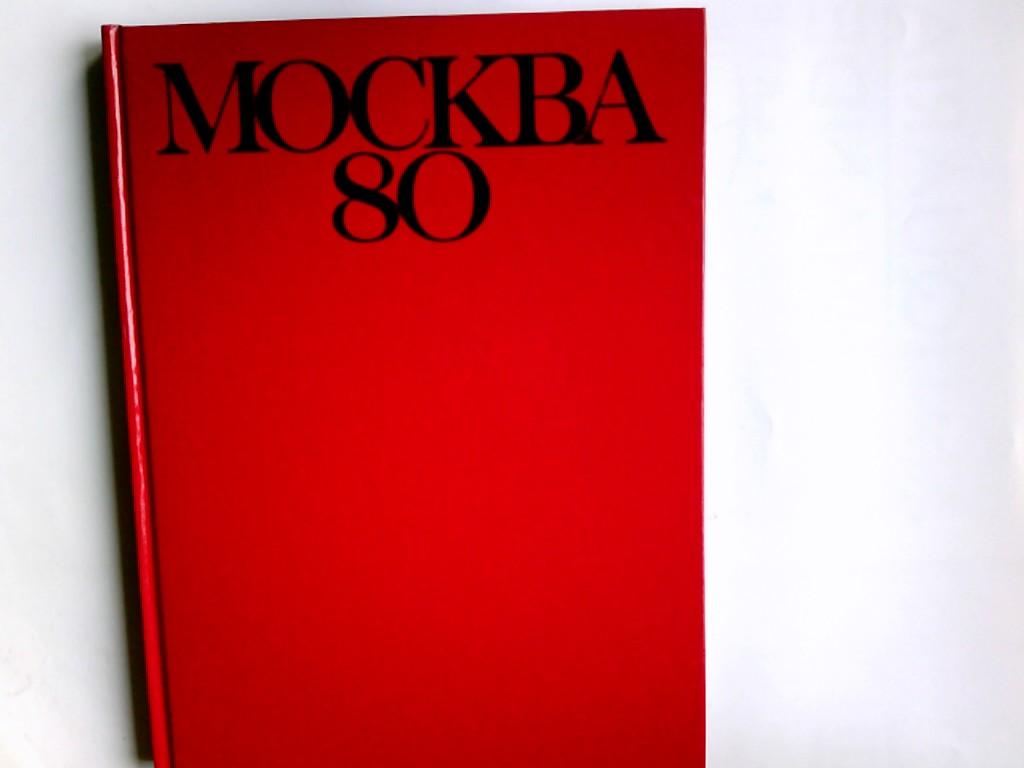 Mockba 80 Deutsch, Engl., Französisch, Niederl.,