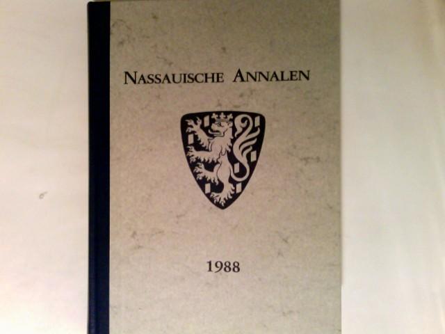 Nassauische Annalen. Jahrbuch des Vereins für Nassauische Altertumskunde und Geschichtsforschung. Band 99