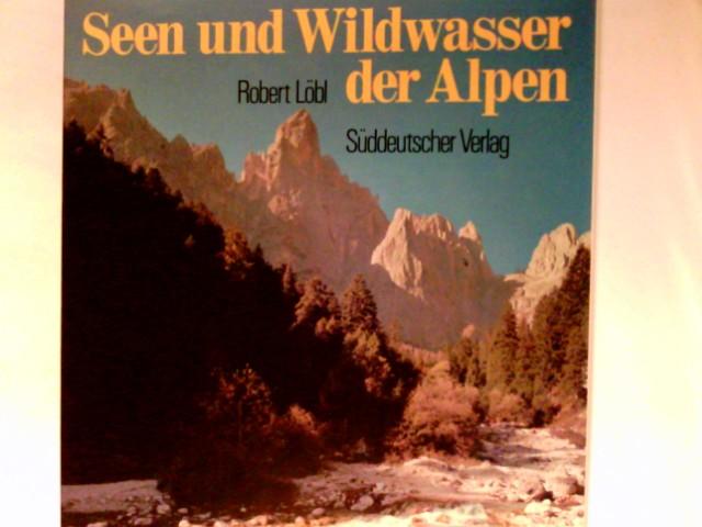 Seen und Wildwasser der Alpen. im Schuber Mit 41 Textbeitr. verschiedener Autoren