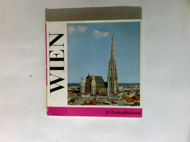 Millonig, Egon (Verfasser) und Hugo (Verfasser) Ellenberger: Wien. 2., veränd. Aufl., Sonderausg.  Panorama-Bücher