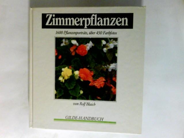 Zimmerpflanzen. Gilde-Handbuch