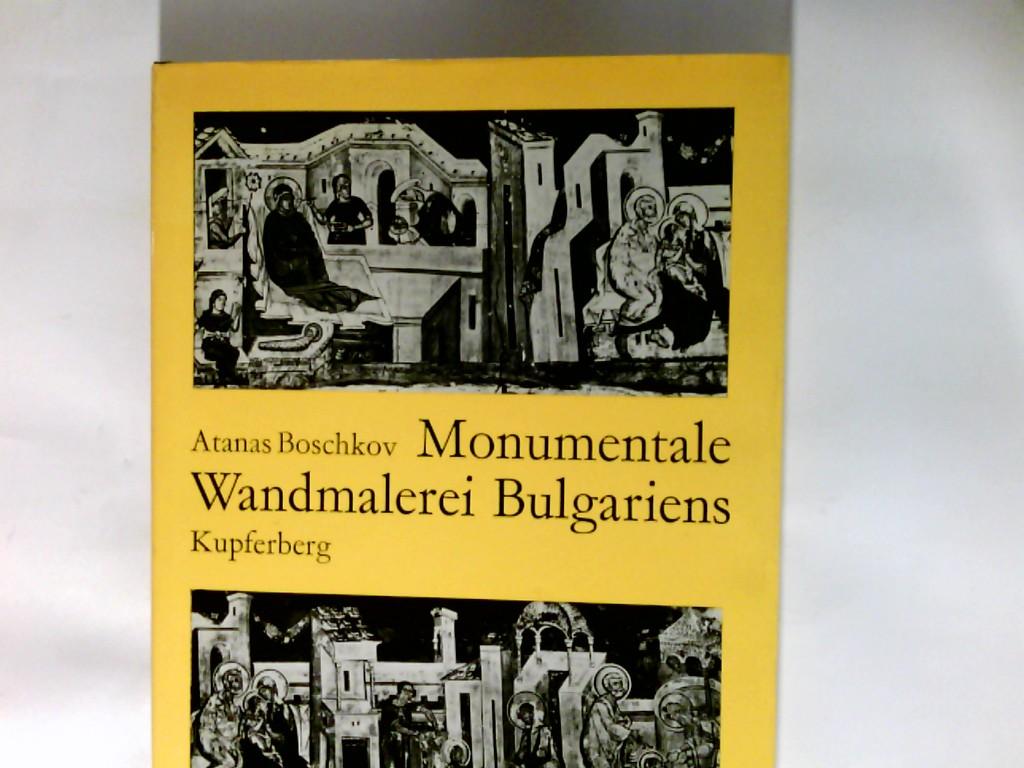 Monumentale Wandmalerei Bulgariens.