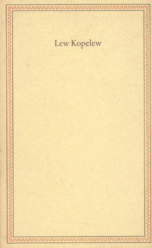 Lew Kopelew : Ansprachen aus Anlass d. Verleihung d. Friedenspreises d. dt. Buchhandels. Börsenverein d. Dt. Buchhandels e.V., Frankfurt am Main / Friedenspreis des deutschen Buchhandels ; 1981