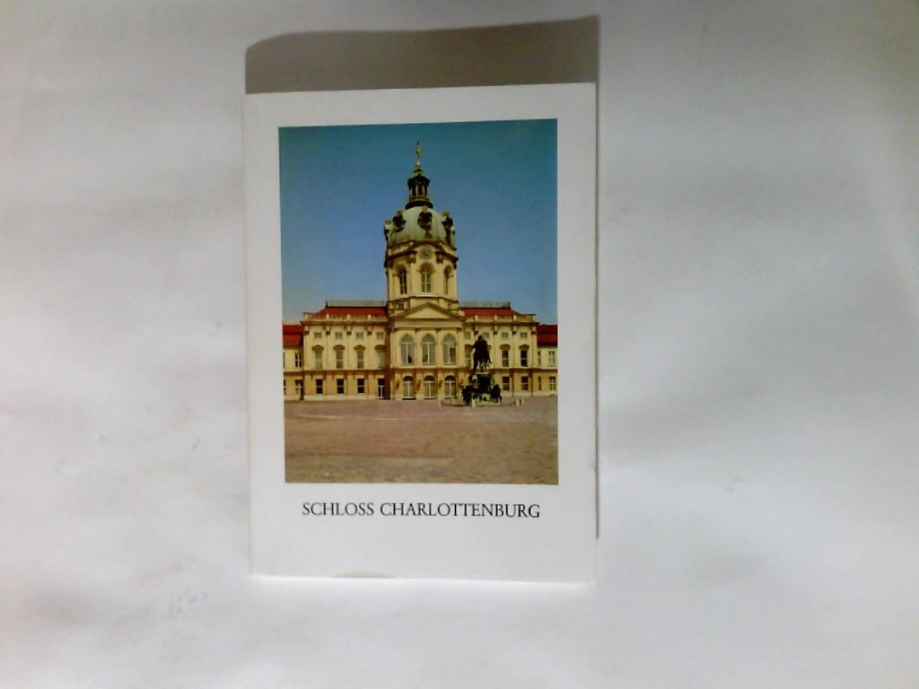 Schloss Charlottenburg 8. veränd. Auflage