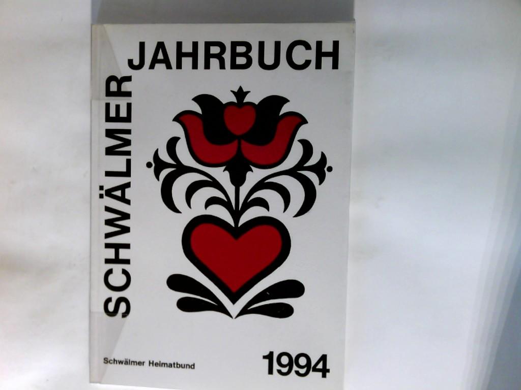 Schwälmer Jahrbuch 1994 Schwälmer Heimatbund