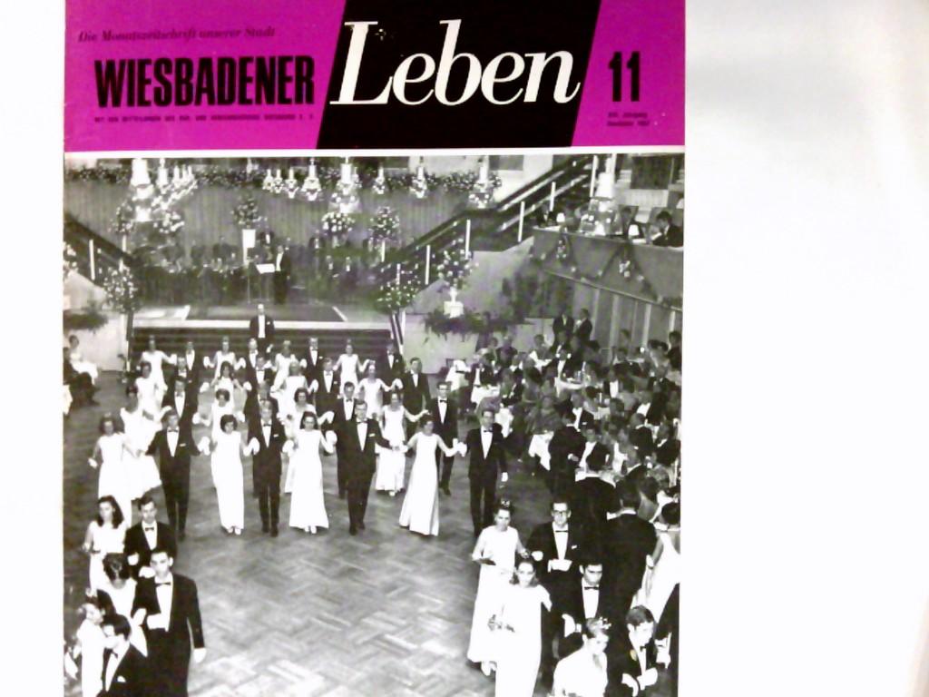 Wiesbadener Leben : die Monatszeitschrift unserer Stadt. XVI Jahrgang   Heft 11