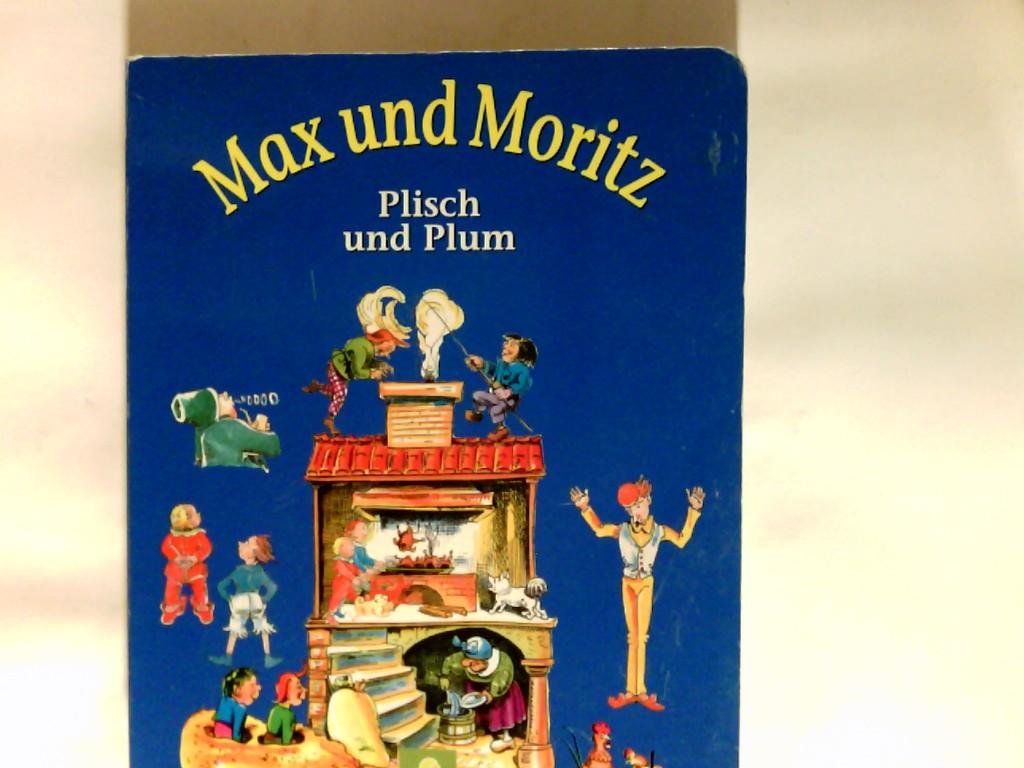 Max und Moritz Plisch und Plum Bildergeschichten