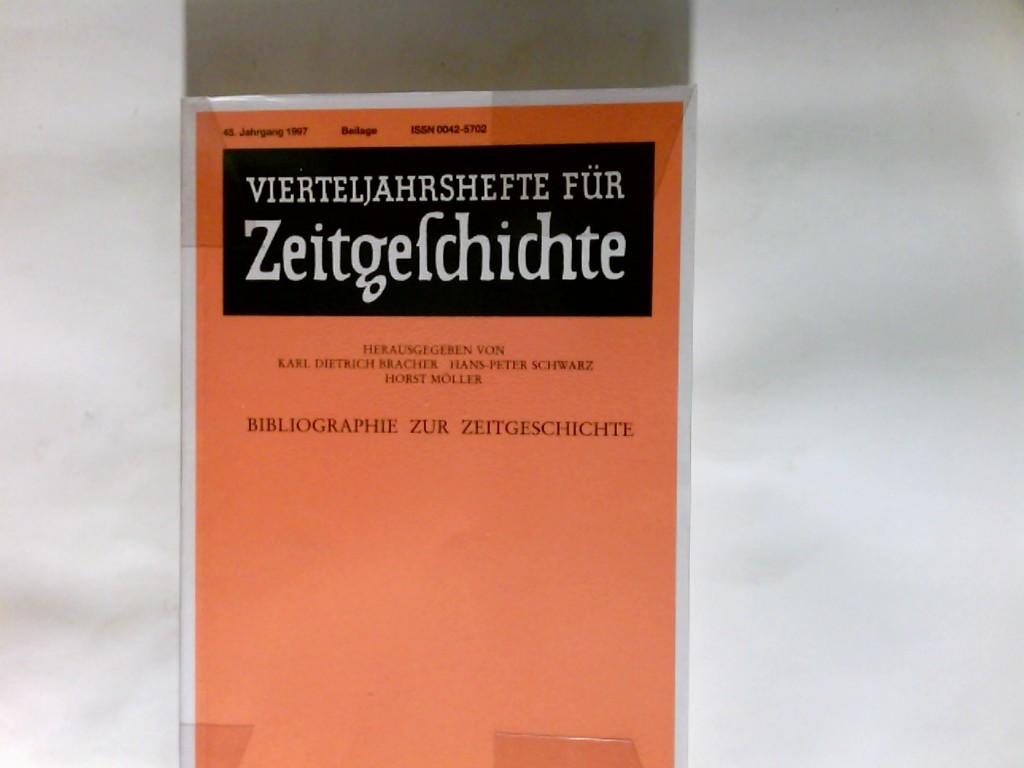 Vierteljahrshefte für Zeitgeschichte.  Bibliographie zur Zeitgeschichte 45. Jahrgang